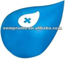 Customized Cheap Water drop pu stress ball