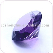 Fashion purple Crystal Diamond For Wedding Giveaway