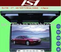 17 inch Flip Down LCD Car Monitor