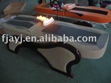 Ayj-8 rulli di giada nuova generazione di lusso elettrica sollevamento base di massaggio con la musica