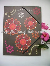 new arrival factory custom 2011 newest style pp/pvc/paper file folder