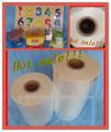 La bolsa de plástico, pof( poliolefina) peliculasretráctiles, material de embalaje