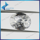 Semi-precious Oval Brilliant Cut Zirconia Gemstone