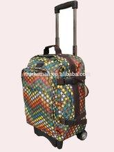 microfiber travel luggage bag