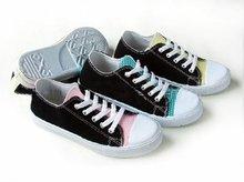 new design cheap women canvas shoes 2012