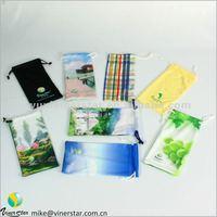 microfiber custom sunglass bag / sunglasses cloth bag / microfiber glasses bags