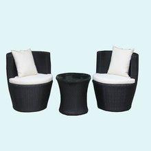 2012 aluminum frame rattan sofa set garden furniture