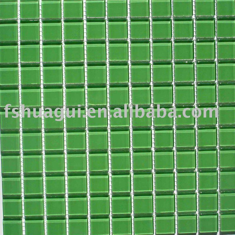 Azulejos Baño Verdes:Cuarto de baño verde mosaico de azulejos de la pared hg-4248001
