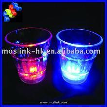 LED flashing plastic shot glass 50ml