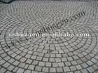 grey granite brick pavement stone