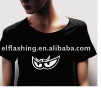 2013 led glowing t-shirt