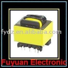 Audio transformer, high frequency transformer, pin mounting transformer