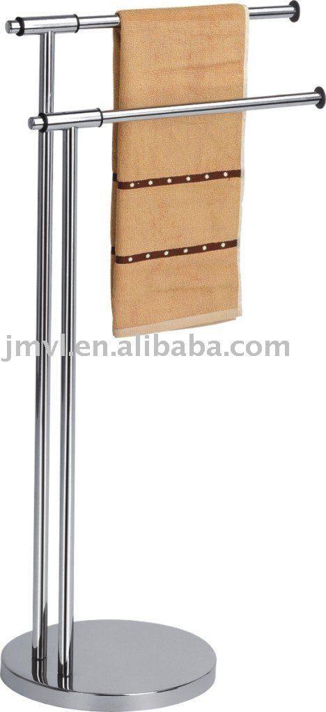 towel rack,bathroom rack, View Stainless steel standing towel rack ...