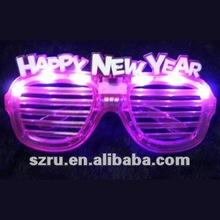 2012 Latest Party LED Flashing sunglasses with Logo
