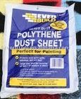 PE Dust sheet drop cloth cover sheet