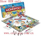 custom monopoly paper board game