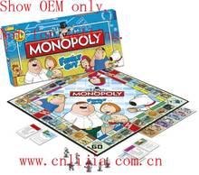 custom monopoly paper board game