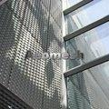 Alumínio expanded metal mesh para parede do edifício, Decoração 2013