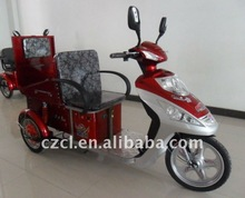 electric tricycle for disabled and old people with shopping bag