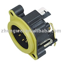 Audio speaker jack, Cannon connector (SPM5-23-Y)