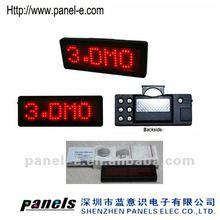 (Direct Manufacturer) 7X29led badges for Xmax,led flashing badges for kids,Usb programme led message board