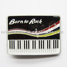 Belt Buckle (Born To Rock Music Piano)