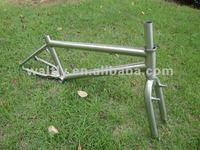 Dirt Jump BMX titanium bike frame -WT09-263
