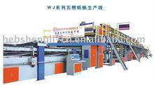 three layer corrugated card board production line