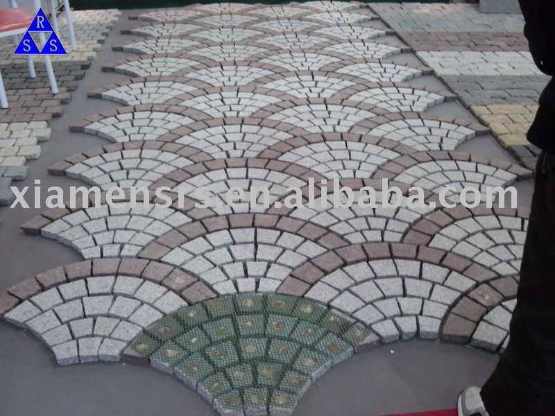 Porcellana verde e rosso porfido pietra pavimentazioni - Suelos de exterior baratos ...
