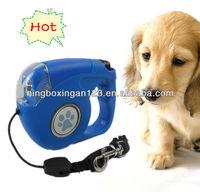 Pet Product LED Light Retractable Dog Leash Pet collar