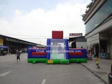 inflatable soap football field football pitch arena inflatables supplier
