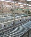 roller transportadora mesa de trabalho com perfil de alumínio frame