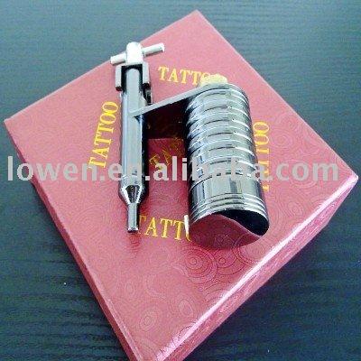 Tattoo  Kits on Image  Hybrid Rotary Low Pitched Gun Tattoo Machine Kit Silent 1100613