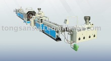 PVC fiber strengthened soft pipe production line
