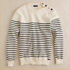 Men's pullover sweater men knitwear (95%cotton 5%cashmere) fine gauge sweater SWT-M10106