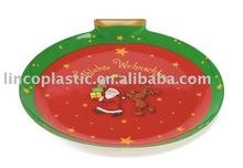New Design Apple Shape Christmas Tray Decorations