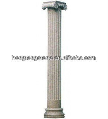 Griego acanalado de m rmol columna pilar identificaci n - Columna de marmol ...
