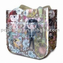 tote bag with printable pp woven material