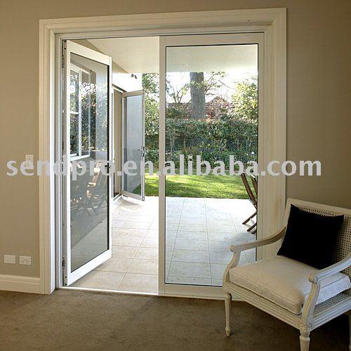 Aluminium porte fran aise pour balcon terrasse - Puertas para porches ...