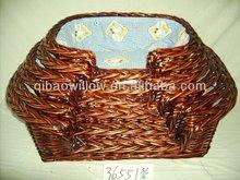 pet willow basket