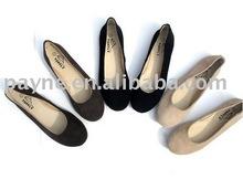 2010 latest fashion flat women shoes
