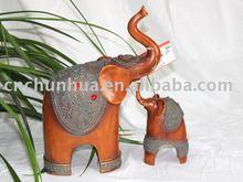 Fashion Elephant Art Statue Resin Handicraft