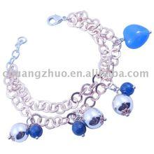 Top Grade Copper Turquoise Heart Bracelet