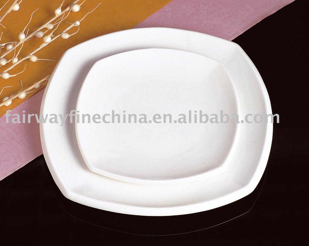 2012 Durable Square Ceramic dinner plate