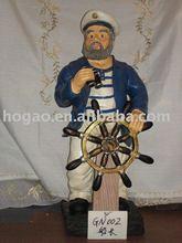 resin nautical figurine polyresin navy figurine