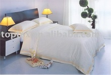 100% cotton sateen fabric for bedding/bed linen/bed fabric