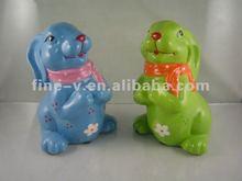 promotion+gift+ceramic+rabbit+decoration