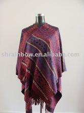purple acrylic stole shawl scarf,acrylic shawl scarves,acrylic cashmere pashmina shawl