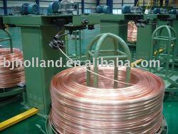maquina de colada continua alza de las varillas de cobre libre de oxigeno