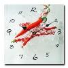 small clocks for craft, wall clock wallpaper, frameless wall clock